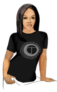 Интегральная футболка «ТСН» женская