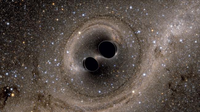 Столкновение чёрных дыр