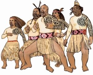 Интегральная одежда Каху Тохунга Тики Манава (Kahu Tohunga Tiki Manawa)