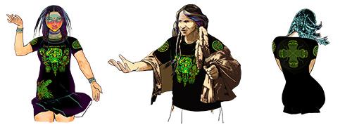 Интегральная футболка «Spirit of Ayahuaska»