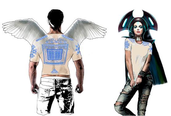 Интегральная футболка «Атлантид» женская и мужская