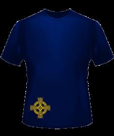 Интегральная футболка «Грааль» мужская перед