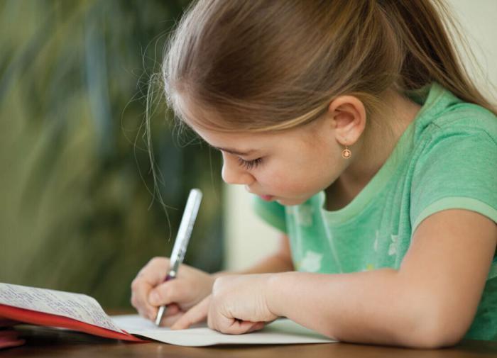 Письмо от руки развивает умственные способности ребёнка